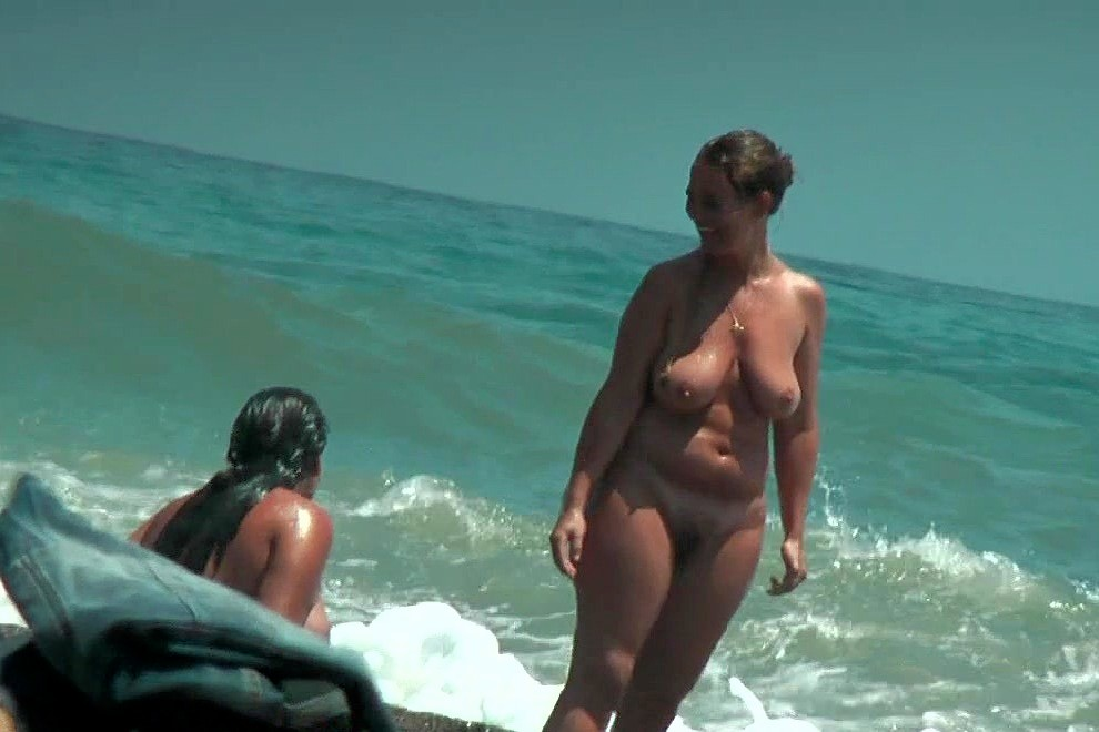 shower Nude beach